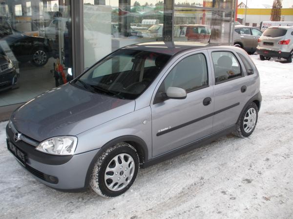 Opel corsa c 1 2 55 kw gebrauchtwagen zu verkaufen